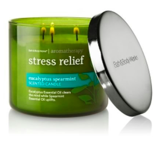 Bath & Bodyworks Stress Relief Candle