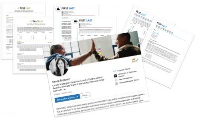 C5 resumes and linkedin profile development