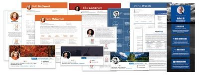 Resume Development, LinkedIn, Infographic examples
